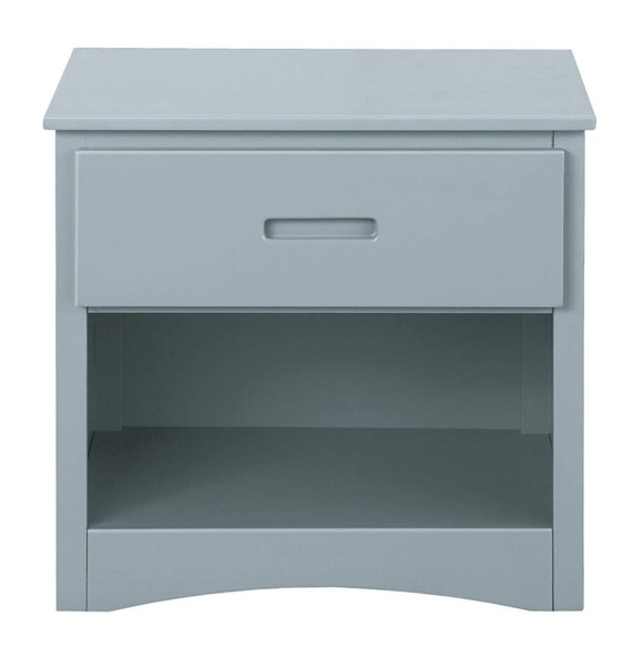 Home Elegance Orion Gray One Drawer Night Stand HE-B2063-4