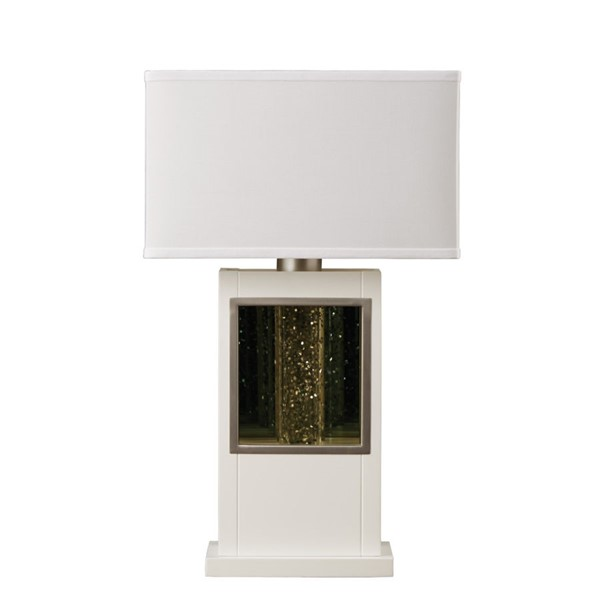 Home Elegance Lucca White Table Lamp HE-H10125