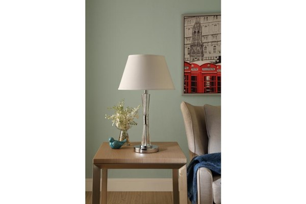 Home Elegance Transect Metal Table Lamp HE-H10490R