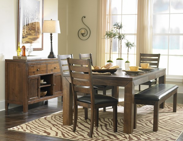 Home Elegance Eagleville Dining Room Set HE-5346DT