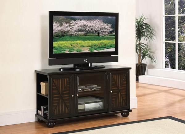 Home Elegance Rufus Dark Brown TV Stand HE-8058-T