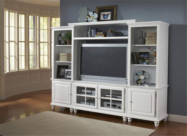 Grand bay small entertainment wall unit 6122sec the for Entertainment center ideas small spaces