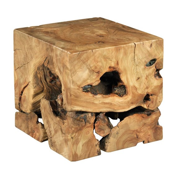 Hammary Hidden Treasures Natural Square Root Table HAM-090-1015