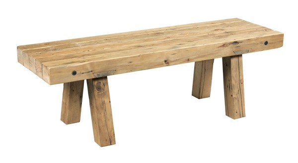 Hammary Hidden Treasures Natural Reclaimed Workbench Cocktail Table HAM-090-894
