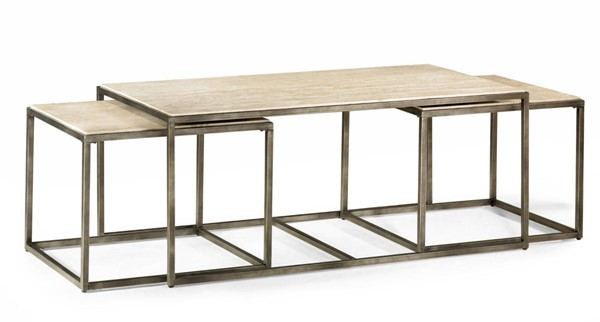 Hammary Modern Basics Natural Bronze Rectangular Cocktail Table HAM-190-910