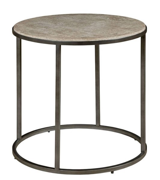 Hammary Modern Basics Natural Bronze Round End Table HAM-190-919