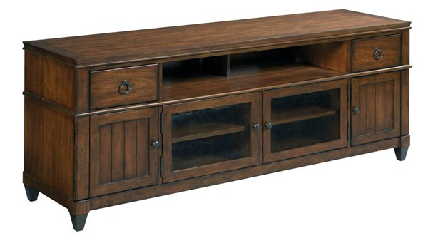 Hammary Sunset Valley Rich Mahogany 80 Inch Entertainment Console HAM-197-585