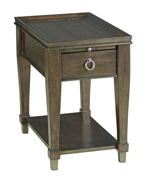 Hammary Sunset Valley Rich Mocha Chairside Table HAM-197-916D