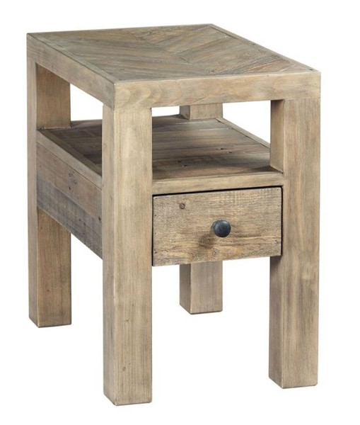Hammary Reclamation Place Autumn Hay Chairside Table HAM-523-921
