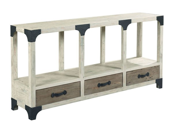 Hammary Reclamation Place Willow Sundried Natural Console Table HAM-523-927