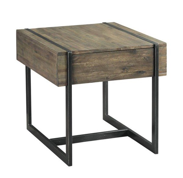 Hammary Modern Timber Natural Rectangular Drawer End Table HAM-626-916