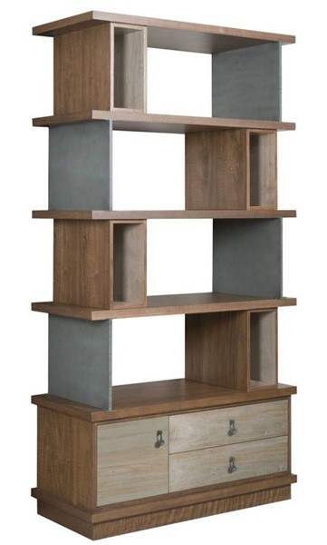 Hammary Synergy Walnut Maple Epoque Bookcase HAM-700-588