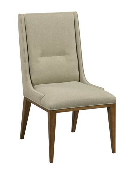 2 Hammary Synergy Walnut Contour Side Chairs HAM-700-636