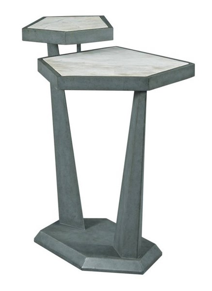 Hammary Synergy White Plane Accent Table HAM-700-917