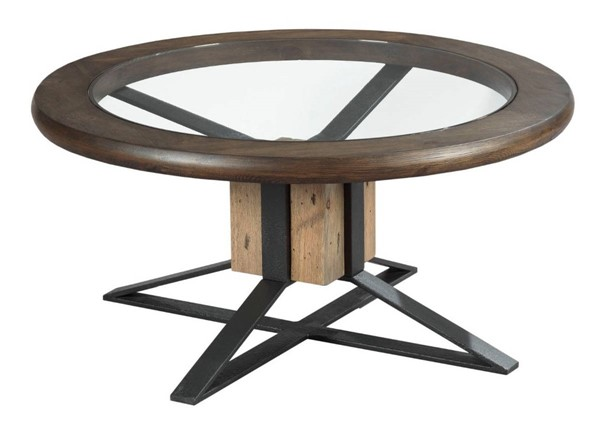 Hammary Junction Timber Chic Coffee Compass Cocktail Table HAM-710-911