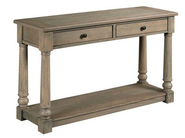 Hammary Outland Hamilton Gray Oak Sofa Table HAM-718-925