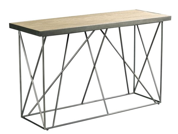 Hammary Rafters Ash Pewter Sofa Table HAM-796-925