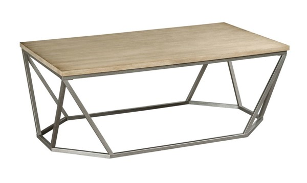Hammary Trillion Natural Oak Rectangular Cocktail Table HAM-819-910