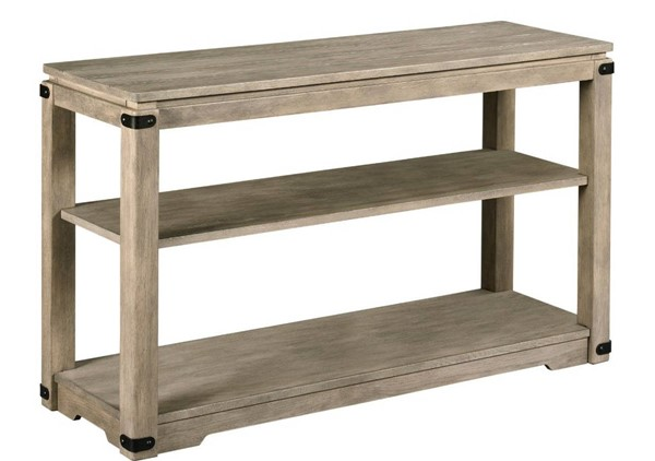 Hammary Marin Hamilton Aged Dusty Gray Sofa Table HAM-836-925