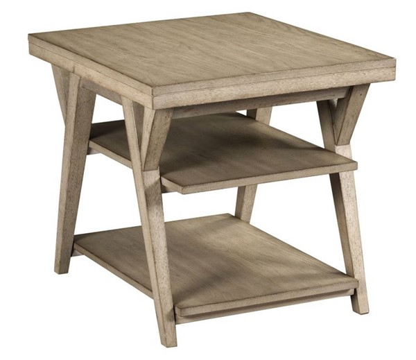 Hammary Exposition Warm Taupe Rectangular End Table HAM-867-915