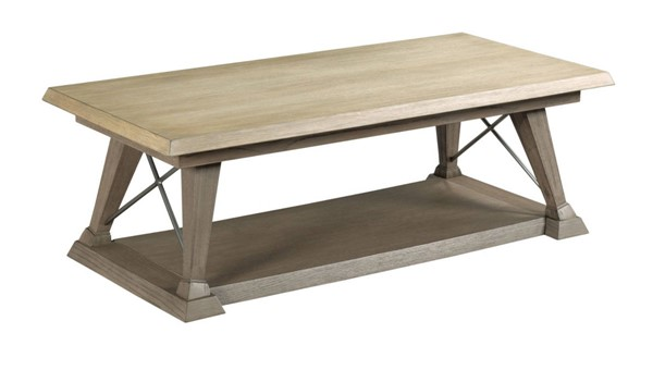 Hammary Barton Dusty Brown Rectangular Cocktail Table HAM-868-910
