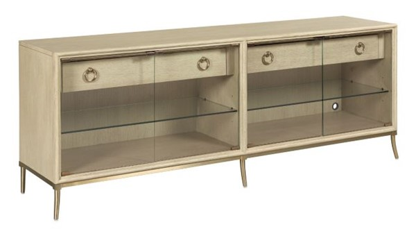 Hammary Lenox Oak Corsica Entertainment Console HAM-923-585