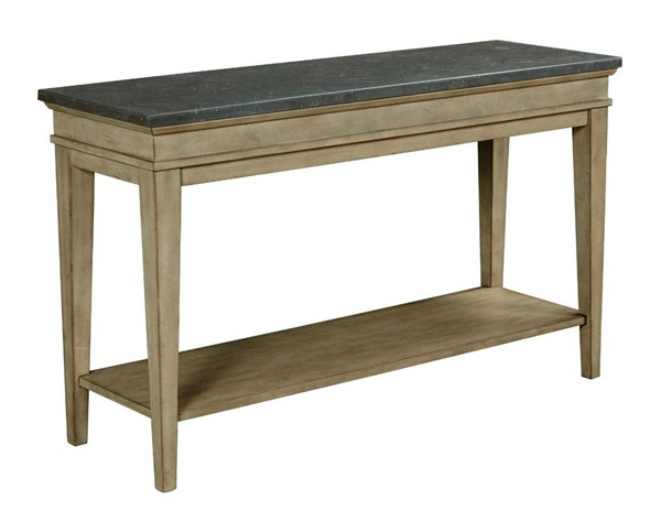 Hammary Riverstone Hamilton Weathered Distressed Beige Sofa Table HAM-966-925