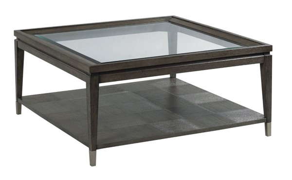 Hammary Synchronicity Mink Sable Brown Square Coffee Table HAM-968-912