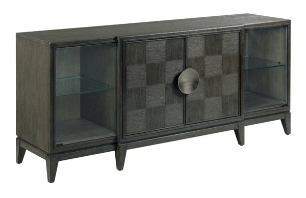 Hammary Synchronicity Mink Sable Brown Entertainment Console HAM-968-926