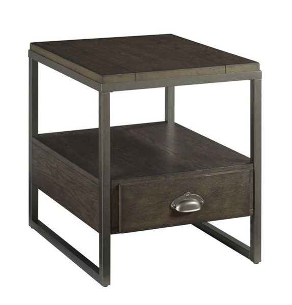Hammary Baja II Cocoa Rectangular Drawer End Table HAM-990-915