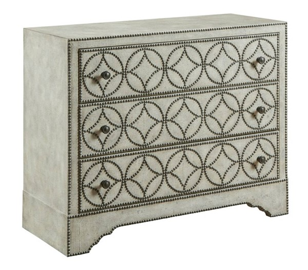 Hammary Hidden Treasures White Accent Cabinet HAM-090-1025