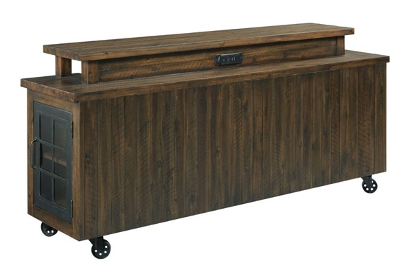 Hammary Hidden Treasures Brown Bar Table HAM-090-1033