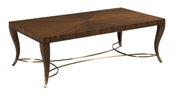 Hammary Vantage Warm Brown Coffee Table HAM-929-910