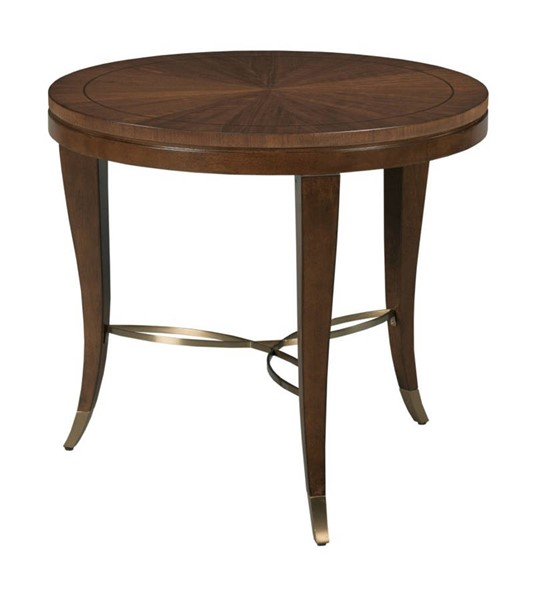 Hammary Vantage Warm Brown Lamp Table HAM-929-916