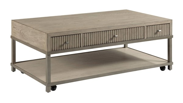 Hammary West Fork Aged Taupe Bailey Coffee Table HAM-924-910