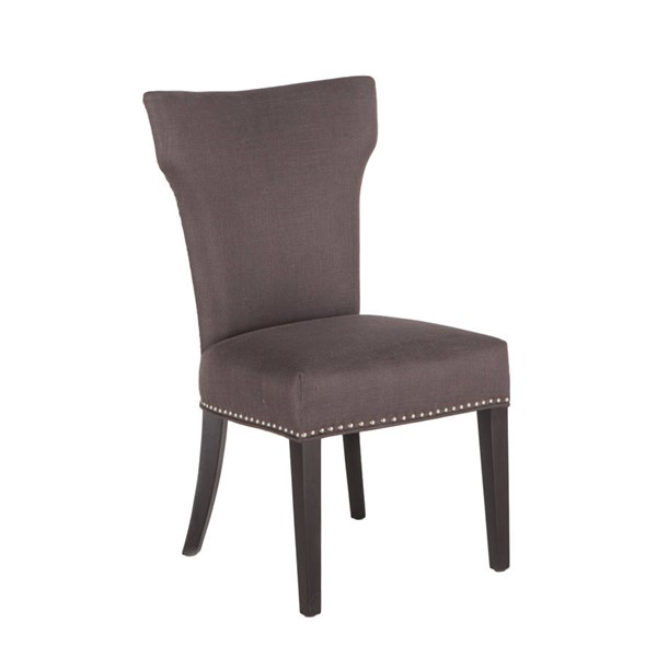 2 World Interiors Quincy Charcoal Dining Chairs WIF-ZWBEC11J-2X