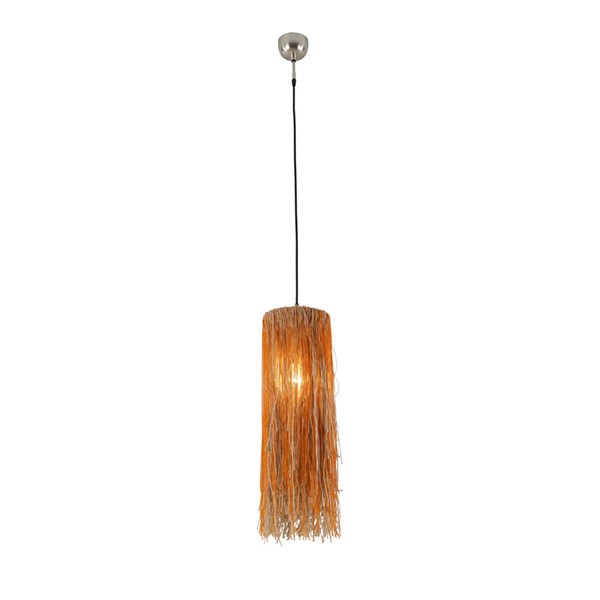 World Interiors Bali Boho Jute Hanging Pendant Light WIF-ZWBLI-BPO