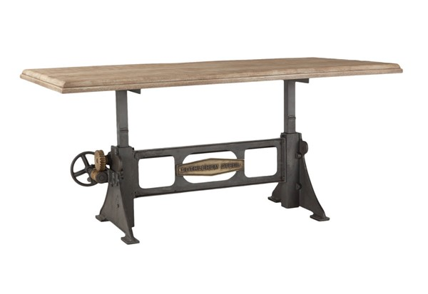 World Interiors Bethlehem 72 Inch Adjustable Dining Table WIF-ZWBMADT76