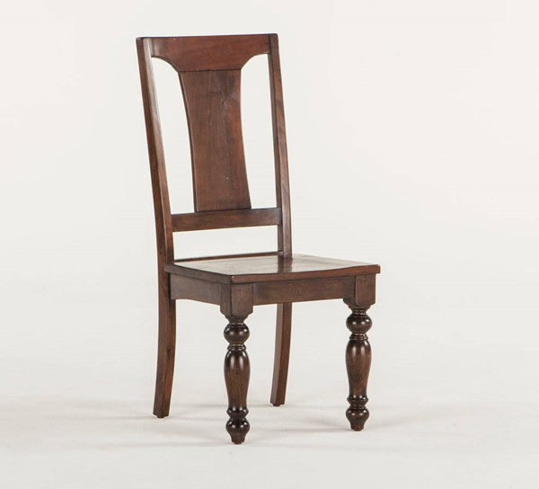 2 World Interiors Chatham Downs Brown Mahogany Dining Chairs WIF-ZWCADO189-2X