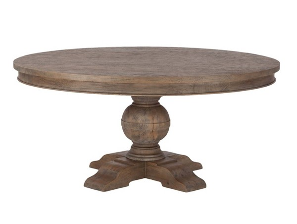 World Interiors Chatham Downs 72 Inch Round Dining Table WIF-ZWCADOTR72WT