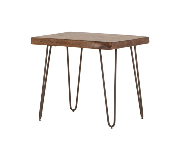 World Interiors Grandby Brown Side Table WIF-ZWGAWN2634