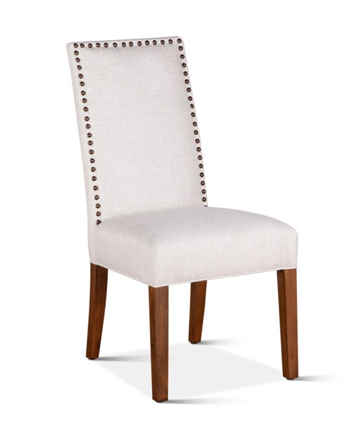 2 World Interiors Jona Off White Linen Dining Chairs WIF-ZWJN270-ECNT-2X