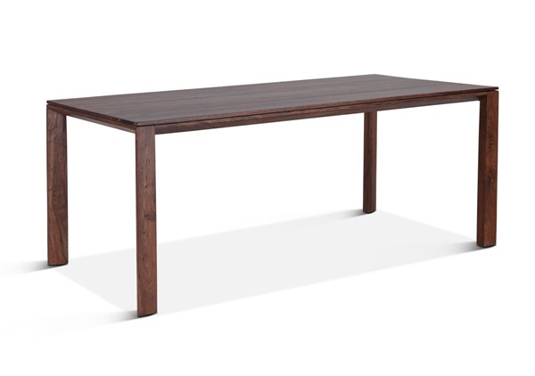 World Interiors Lisbon Brown Sheesham Wood Dining Table WIF-ZWLSNDT72