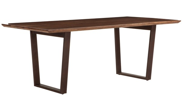World Interiors Mapai Brown Dining Table WIF-ZWMP7838