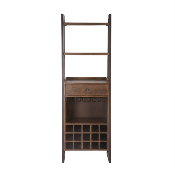 World Interiors Mapai Brown Bar Cabinet WIF-ZWMPBC24