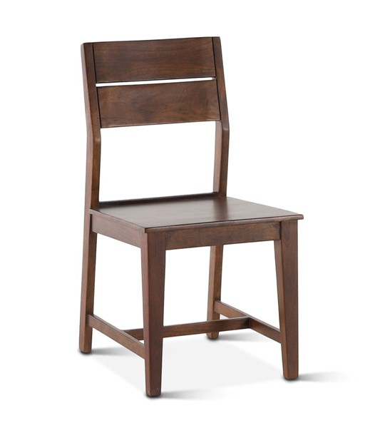 2 World Interiors Mapai Brown Wood Dining Chairs WIF-ZWMPDCTHWN-2X