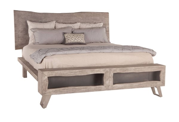 World Interiors Nottingham Gray King Bed WIF-ZWNTHM16WG