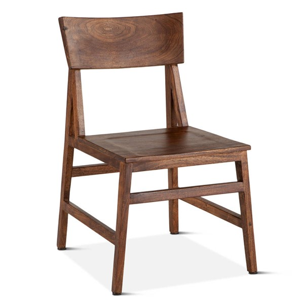 2 World Interiors Nottingham Brown Dining Chairs WIF-ZWNTHM199-2X