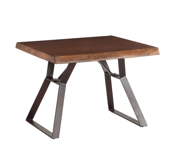 World Interiors Nottingham Brown Side Table WIF-ZWNTHM2324