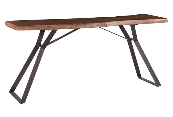 World Interiors Nottingham Brown Console Table WIF-ZWNTHM723
